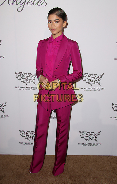 HOLLYWOOD, CA - MAY 07: Zendaya attends The Humane Society of the United States' to the Rescue Gala at Paramount Studios on May 7, 2016 in Hollywood, California.  <br /> CAP/MPI/PA<br /> &copy;PA/MPI/Capital Pictures