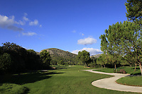 The 15th during the Pro-Am of the Challenge Tour Grand Final 2019 at Club de Golf Alcanada, Port d'Alcúdia, Mallorca, Spain on Wednesday 6th November 2019.<br /> Picture:  Thos Caffrey / Golffile<br /> <br /> All photo usage must carry mandatory copyright credit (© Golffile | Thos Caffrey)