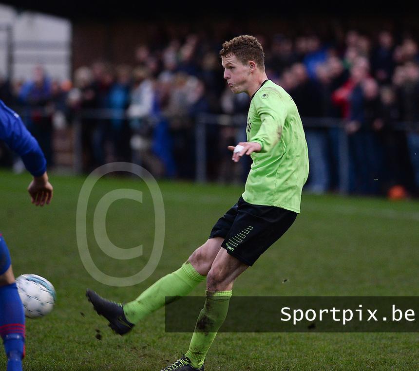 FC Moerkerke  : Jens De Smet <br /> Foto VDB / Bart Vandenbroucke