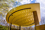 Artistic Architecture, Baffled Roof, Seasongood Pavilion, Eden Park, Cincinnati, Ohio