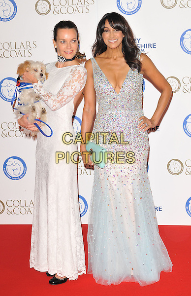 Kim Frickleton &amp; Jackie St Clair attend the Collars &amp; Coats Gala Ball 2015, Battersea Evolution, Battersea Park, London, England, UK, on Thursday 12 November 2015. <br /> CAP/CAN<br /> &copy;Can Nguyen/Capital Pictures