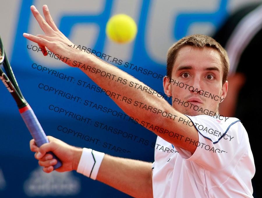 Tenis.ATP Serbia Open 2009.Viktor troicki Vs. Marcel Granollers, second round.Viktor Troicki.Beograd, 05.06.2009..foto: Srdjan Stevanovic/Starsportphoto.com ©