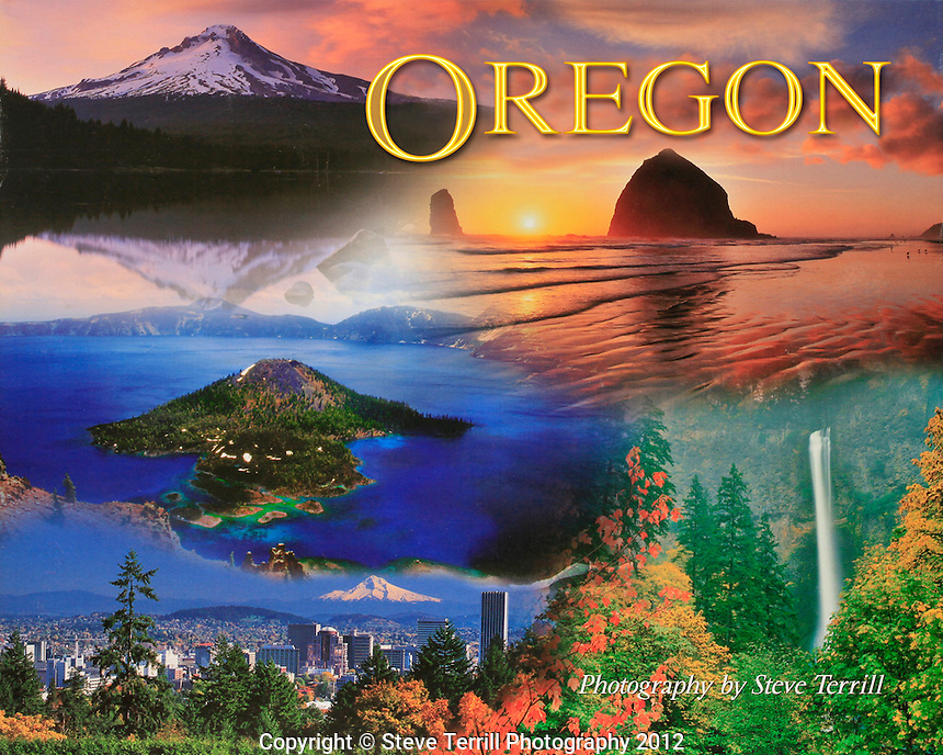 Oregon Book by Impact