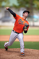 Baltimore Orioles Terry Doyle (99) during a minor league Spring Training game against the Minnesota Twins on March 16, 2016 at CenturyLink Sports Complex in Fort Myers, Florida.  (Mike Janes/Four Seam Images)