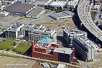 aerial photograph Mission Bay biomed biotechnology UCSF University of California San Francisco