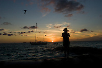 02.2012 Isla Mujeres (Mexico)<br /> <br /> Coucher de soleil.<br /> <br /> Sunset.