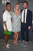 BEVERLY HILLS, CA - AUGUST 4: Aisha Tyler, Stephen Amell, Guest, at The CW's Summer TCA All-Star Party at The Beverly Hilton Hotel in Beverly Hills, California on August 4, 2019. <br /> CAP/MPI/FS<br /> ©FS/MPI/Capital Pictures