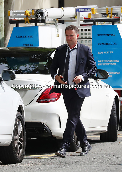 26 OCTOBER 2016 SYDNEY AUSTRALIA<br /> WWW.MATRIXPICTURES.COM.AU<br /> <br /> NON EXCLUSIVE <br /> <br /> Karl Stefanovic pictured attending a real estate agency in North Sydney and later visiting a property called The Anchorage at 33-35 East Crescent Street, Lavender Bay. Karls wife Cassandra Thorburn also attended the property but left separately. <br /> <br /> *No web without clearance*.<br /> <br /> MUST CALL PRIOR TO USE <br /> <br /> +61 2 9211-1088. <br /> <br /> Note: All editorial images subject to the following: For editorial use only. Additional clearance required for commercial, wireless, internet or promotional use.Images may not be altered or modified. Matrix Media Group makes no representations or warranties regarding names, trademarks or logos appearing in the images.