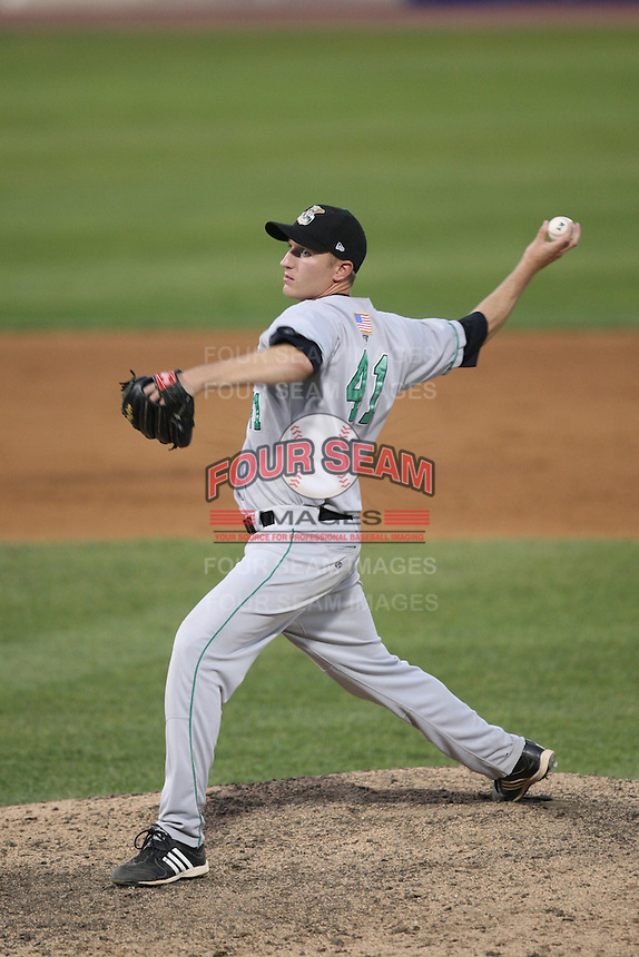 May 29, 2010: Brandon Josselyn (41) of the Clinton LumberKings at Elfstrom Stadium in Geneva, IL. The LumberKings are the Midwest League Class A affiliate of the Seattle Mariners. Photo by: Chris Proctor/Four Seam Images