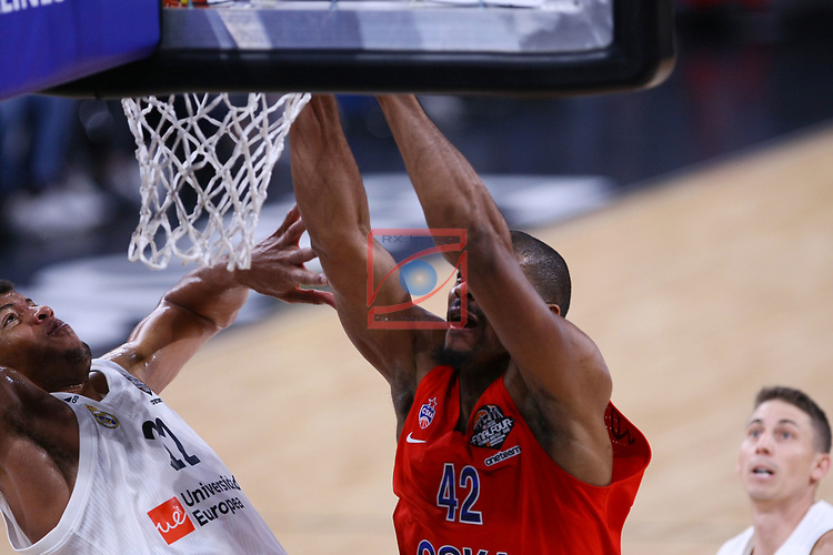 Turkish Airlines Euroleague.<br /> Final Four - Vitoria-Gasteiz 2019.<br /> Semifinals.<br /> CSKA Moscow vs Real Madrid: 95-90.<br /> Walter Tavares vs Kyle Hines.