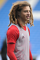 Ethan Ampadu of Wales during the Wales Training Session at the Cardiff City Stadium in Cardiff, Wales, UK. Thursday 15 November 2018