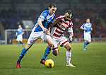 St Johnstone v Hamilton Accies…28.01.17     SPFL    McDiarmid Park<br />Blair Alston and Dougie Imrie<br />Picture by Graeme Hart.<br />Copyright Perthshire Picture Agency<br />Tel: 01738 623350  Mobile: 07990 594431