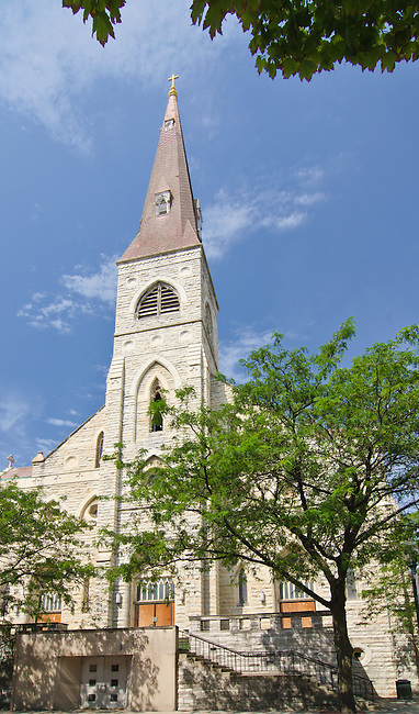 The St. Mary Carmelite Churdh in Joliet has been a recognizable sight on the Joliet skyline for more than a hundred years and will remain there with a renovation to senior housing
