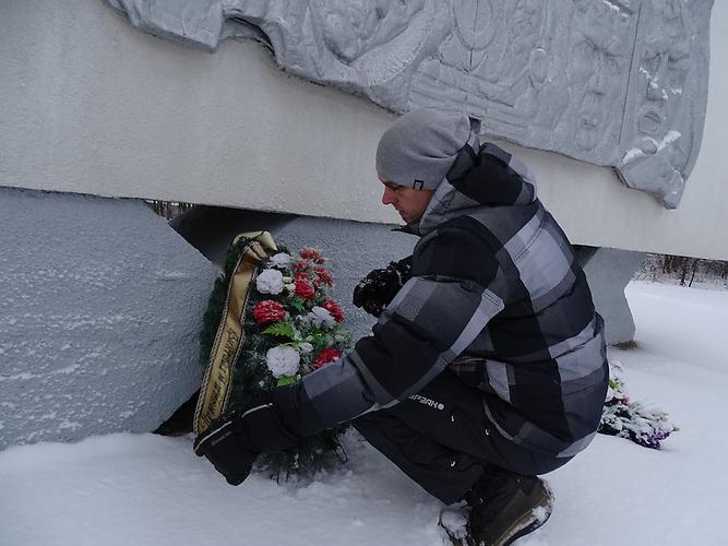 """Stanislaw Maksimow ist gelernter Ökonom und restauriert mit dem Verein """"Erinnerung"""" sowjetische Kriegsdenkmäler in Estland."""