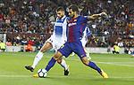 Andre Gomes in action ,9th September 2017, Camp Nou, Barcelona, Spain; La Liga football, Barcelona versus Espanyol;