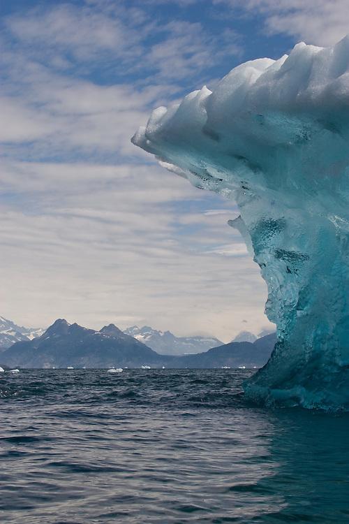 Alaska, Prince William Sound, Iceberg, Columbia Bay, Columbia Glacier,