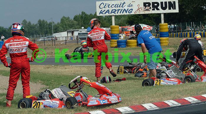 Chris Walker Karting Images