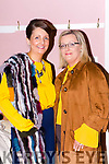 Orla O'Callaghan and Lisa Fleming  at the Friends of Chernobyl fashion show in Rathmore on Thursday night