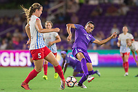 Orlando, FL - Saturday August 05, 2017: Marta Vieira Da Silva during a regular season National Women's Soccer League (NWSL) match between the Orlando Pride and the Chicago Red Stars at Orlando City Stadium.