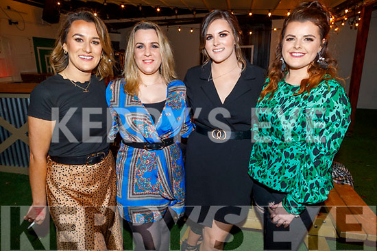 Niamh O'Carroll, Jennifer O'Carroll Reidy, Megan O'Brien and Helena Buckley attending the 'Paris is Burning' Drag Show in Benners Hotel on Saturday.
