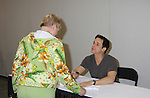 Young and the Restless Christian LeBlanc is the host of the event and asks questions of the fans at the Soapstar Spectacular starring actors from OLTL, Y&R, B&B and ex ATWT & GL on November 20, 2010 at the Myrtle Beach Convention Center, Myrtle Beach, South Carolina. (Photo by Sue Coflin/Max Photos)