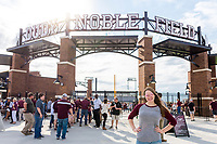 Super Bulldog Weekend: Baseball vs Arkansas at Dudy Noble Field<br />  (photo by Marco Lopez / &copy; Mississippi State University)