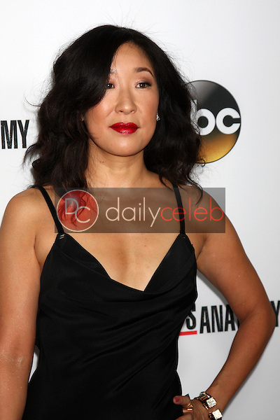 """Sandra Oh<br /> at the """"Grey's Anatomy"""" 200th Episode Red Carpet Event, Colony, Hollywood, CA 09-28-13<br /> David Edwards/Dailyceleb.com 818-249-4998"""