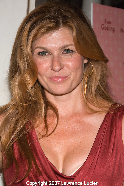 "NEW YORK - OCTOBER 03:  Actor Connie Britton arrives at the New York screening of ""Lars And The Real Girl"" October 3, 2007, at the Paris Theater in New York City.  (Photo by Lawrence Lucier)"