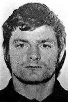 Tommy Tolan, aka Tommy Toddler Tolan, 31 years, married, West Belfast, N Ireland, well known Provisional IRA figure and associate of Sinn Fein president, Gerry Adams. Tolan was one of 4 men to die on the same day, 27th July 1977, in a feud between the Provisional IRA and the Official IRA. 19720119001TT.<br /> <br /> Copyright Image from Victor Patterson, 54 Dorchester Park, Belfast, UK, BT9 6RJ<br /> <br /> t1: +44 28 9066 1296 (from Rep of Ireland 048 9066 1296)<br /> t2: +44 28 9002 2446 (from Rep of Ireland 048 9002 2446)<br /> m: +44 7802 353836<br /> <br /> victorpattersonbelfast@gmail.com<br /> victorpatterson@me.com<br /> <br /> www.victorpatterson.com<br /> <br /> Please see my Terms and Conditions of Use at https://www.victorpatterson.com/page2<br /> It is IMPORTANT that you familiarise yourself with them.<br /> <br /> Images used on the Internet incur an additional cost and must be visibly watermarked i.e. © Victor Patterson within the body of the image and copyright metadata must not be deleted. Images used on the Internet have a size restriction of 4kbs and are chargeable at rates available at victorpatterson.com.<br /> <br /> This image is available only for the use of the download recipient i.e. television station, newspaper, magazine, book publisher, etc, and must not be passed on to any third party. It is also downloaded on condition that each and every usage is notified within 7 days to victorpatterson@me.com<br /> <br /> The right of Victor Patterson (or the named photographer) to be identified as the author is asserted in accordance with The Copyright Designs And Patents Act (1988). All moral rights are asserted.