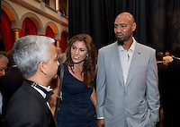 Sunil Gulati, Hope Solo, Jerramy Stevens. US Soccer held their Centennial Gala at the National Building Museum in Washington DC.