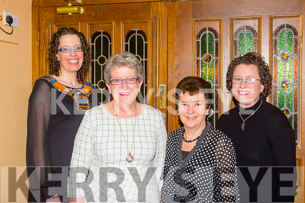 Celebrating her birthday last Saturday night was Eileen O'Brien(2nd from left) from Abbeyfeale pictured in Leen's Hotel, Abbeyfeale, also pictured l-r was Julie O'Brien, Kathleen O'Donnell and Lee Collins.