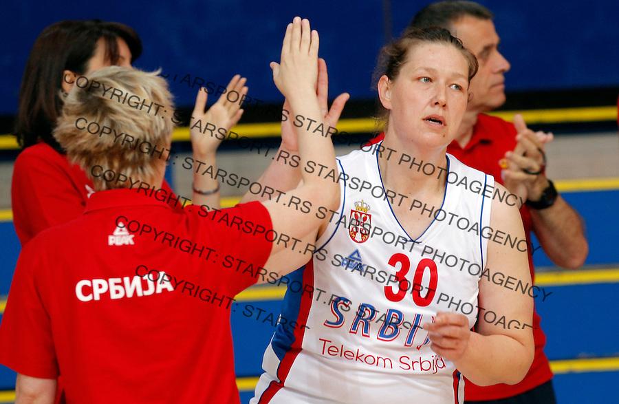 Jelena Maksimovic prijateljska, friendly, Srbija - Kina, Serbia - China, women basketball national team Maj 29. 2015. Beograd, Srbija,  (credit image & photo: Pedja Milosavljevic / STARSPORT)