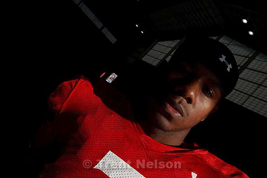 Salt Lake City - University of Utah quarterback Terrance Caine (7).