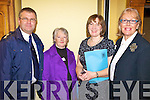 CONFERENCE: At the Community Communication Network conference in Tralee on Friday were, l-r: Nigel Corner (Kerry Fire Service), Margaret Sweeney (Sean Cha?irde), Siobhan Griffin (Kerry County Council), Ma?ire ????