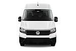 Car photography straight front view of a 2019 Volkswagen Crafter Base 4 Door Cargo Van