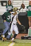 Torrance, CA 10/06/11 - Matt Hezlep (Peninsula #6) in action during the Peninsula vs South Varsity football game.