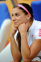 Alex Morgan of team USA during the FIFA Women's World Cup at the FIFA Stadium in Sinsheim, Germany on July 2nd, 2011.