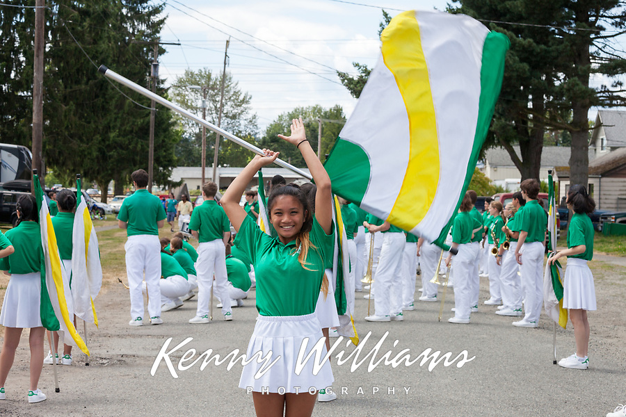 Seattle All-City Marching Band, Kent Cornucopia Days 2017, Kent, WA, USA.