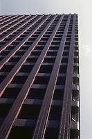 Tokyo: Tokio Kaijo Building--roof edge. Photo '82.