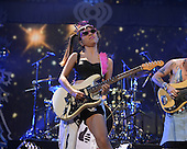 SUNRISE FL - DECEMBER 18: Jin Joo Lee of DNCE performs at the Y100 Jingle Ball 2015 held at The BB&T Center on December 18, 2015 in Sunrise, Florida. (Photo by Larry Marano © 2015