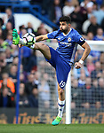 Chelsea's Diego Costa in action during the Premier League match at the Stamford Bridge Stadium, London. Picture date: April 1st, 2017. Pic credit should read: David Klein/Sportimage via PA Images