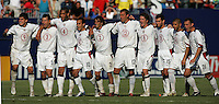 July 24, 2005: East Rutherford, NJ, USA:  The USMNT reacts to goalkeeper Kasey Keller (18) making a save on a penalty kick during the CONCACAF Gold Cup Finals at Giants Stadium.  The USMNT won 3-1 on penalty kicks.