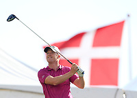 David Horsey (ENG) on the 18th tee during Round 4 of Made in Denmark at Himmerland Golf &amp; Spa Resort, Farso, Denmark. 27/08/2017<br /> Picture: Golffile | Thos Caffrey<br /> <br /> All photo usage must carry mandatory copyright credit     (&copy; Golffile | Thos Caffrey)
