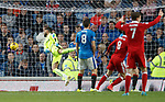 Ryan Christie scores Aberdeen's second goal