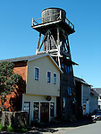 Water tower in Mendocino