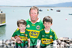 l-r  Liam Goodwin, Noel Goodwin and Darragh Goodwin from Maharees  at the Maharees Regatta on Sunday