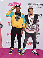 CARSON, CA - JUNE 01: Tai (L) and Johnny Lee of The Hotel Lobby attend 2019 iHeartRadio Wango Tango at The Dignity Health Sports Park on June 01, 2019 in Carson, California.<br /> CAP/ROT/TM<br /> ©TM/ROT/Capital Pictures