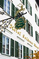 Oesterreich, Salzburger Land, Salzburg: Hotel Goldener Hirsch | Austria, Salzburger Land, Salzburg: Hotel Goldener Hirsch - Hotel Golden Deer
