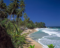 Trinidad & Tobago, Commonwealth, Trinidad, Blanchisseuse Bay: beach in the north