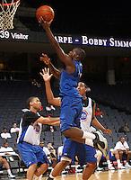 Chris Jones at the NBPA Top100 camp June 18, 2010 at the John Paul Jones Arena in Charlottesville, VA. Visit www.nbpatop100.blogspot.com for more photos. (Photo © Andrew Shurtleff)